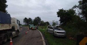 Pai e filha moradores de Dourados morrem em acidente em rodovia do Paraná