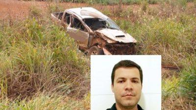 Após colidir em locomotiva, agrônomo morre de Chapadão do Sul