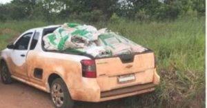 Polícia Militar Ambiental autua em R$ 50 mil contrabandista preso por Policiais do DOF com agrotóxicos adquiridos Paraguai