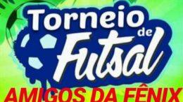 FUTSAL: Amigos da Fênix realizará Torneio de Férias no próximo final de semana