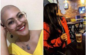 Com câncer no pulmão aos 23 anos, jovem de Mato Grosso alerta sobre narguilé: 'usava aos finais de semana'