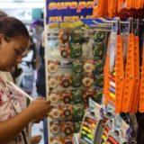 Vendas do comércio varejista crescem 0,6% de outubro para novembro