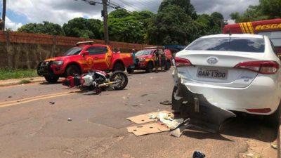 VÍDEO: morte de idosa após atropelamento foi filmada por câmeras de segurança
