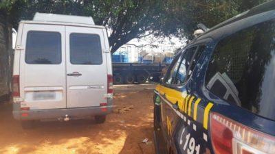 PRF recupera em Campo Grande van furtada em março de 2019