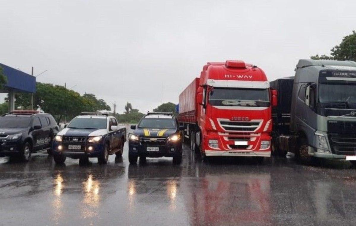 Video de Gratidão: Caminhoneiro agradece PRFs de Miranda (MS) que recuperaram o seu caminhão