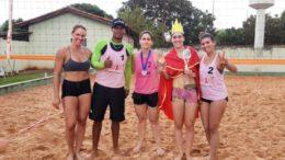 Rainha da Areia: Luana Marquetti conquista a Coroa de Rainha do Vôlei de Praia de São Gabriel do Oeste