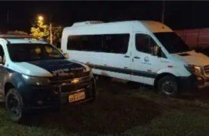 """São Gabriel do Oeste: Adolescente furta a Van da prefeitura para """"dar umas voltas"""""""
