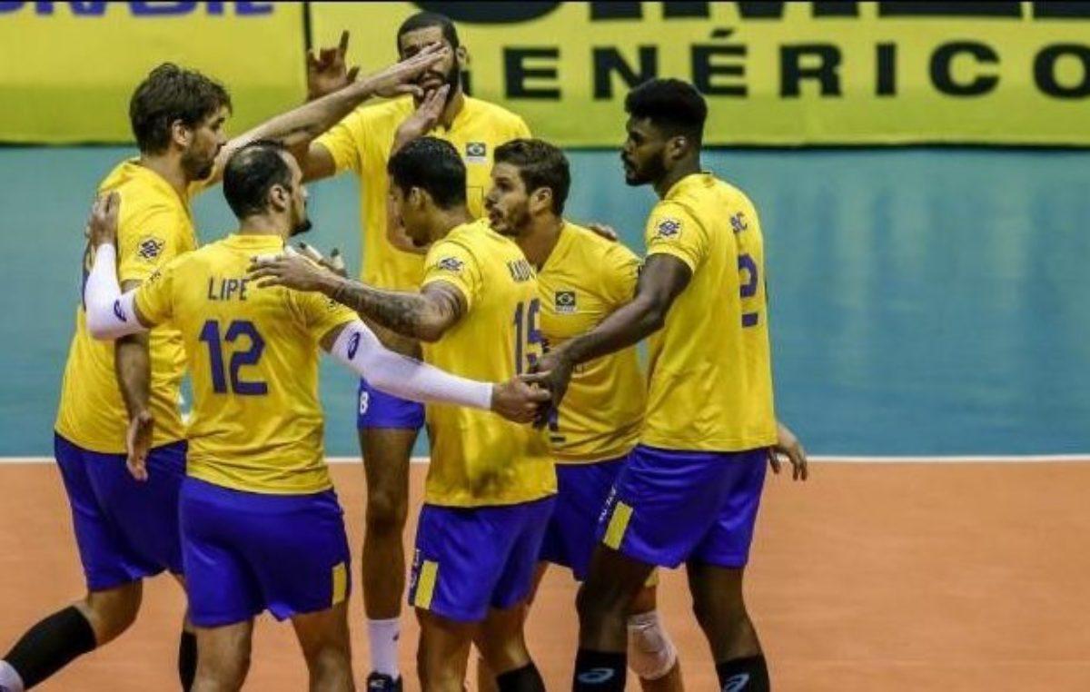 Liga das Nações de Voleibol: Brasil, Itália, Rússia e Alemanha vão jogar no Guanandizão em junho